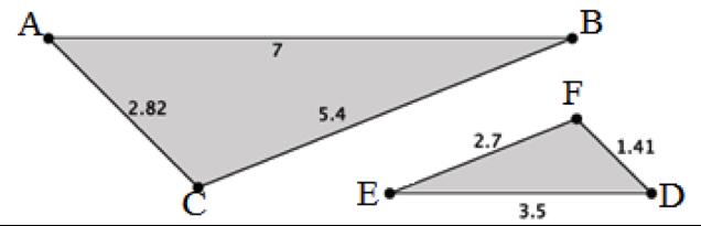 Match Fishtank - Geometry - Unit 3: Dilations and Similarity