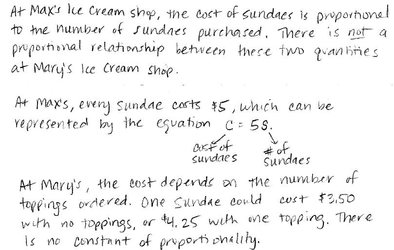 Match Fishtank 7th Grade Math Unit 1 Proportional Relationships